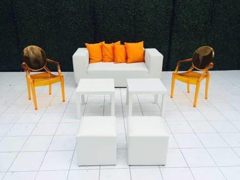 Oscar  chairs orange