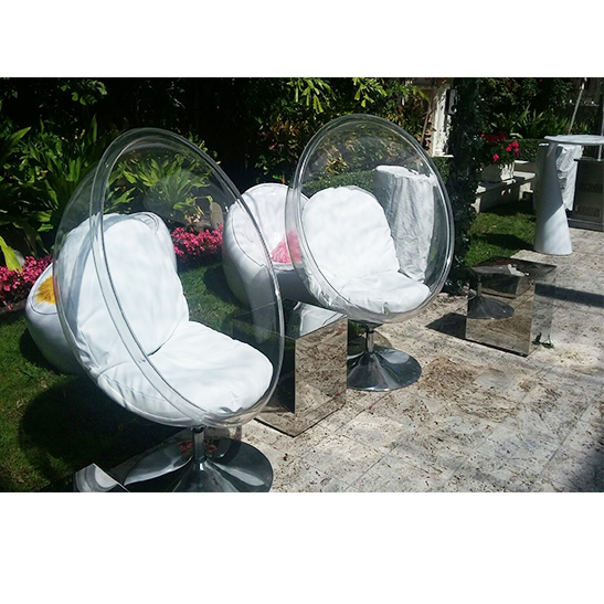 Bubble Chair Clear Bubble Miami