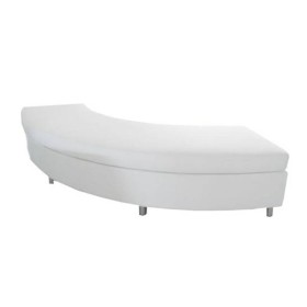 curve bench white