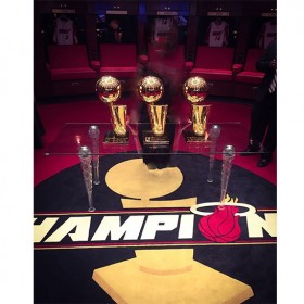ice table miami heat