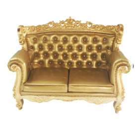 love seat gold183