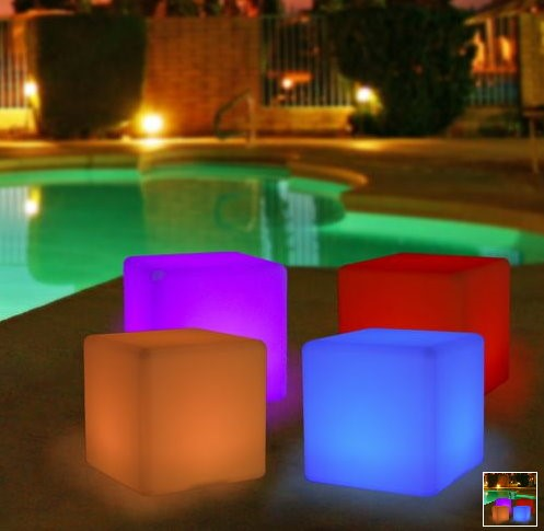 Glow Cube Led Bubble Miami