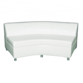 Sofa low back curve