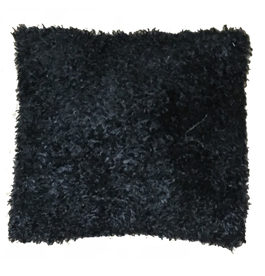 pillow_black_shag