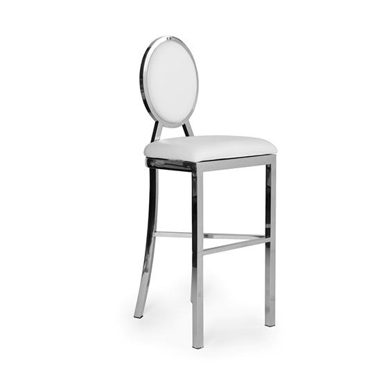 alice silver white pad