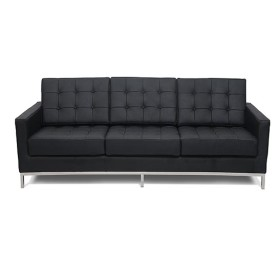 flow sofa black