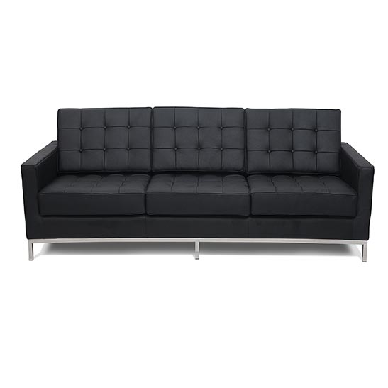flow sofa black