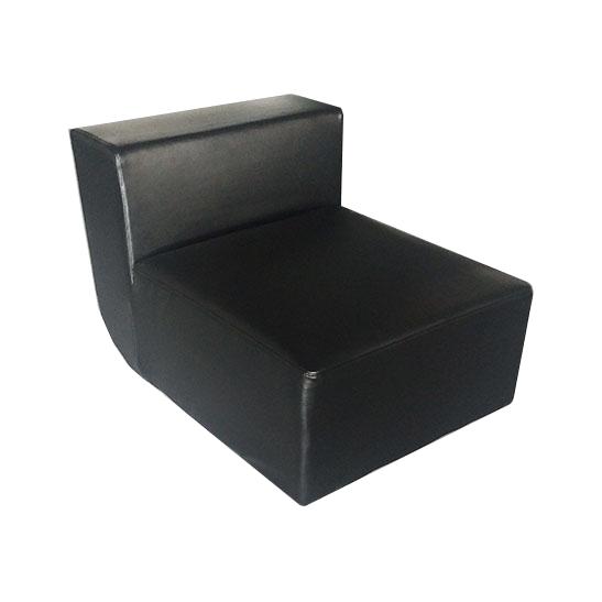 u chair black