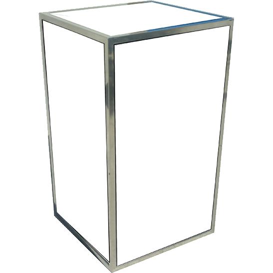 uno pedestal white