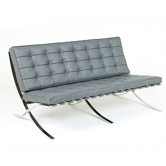 Charming Barcelona Sofa Grey Categories: Various Colors, Indoor, Lounge