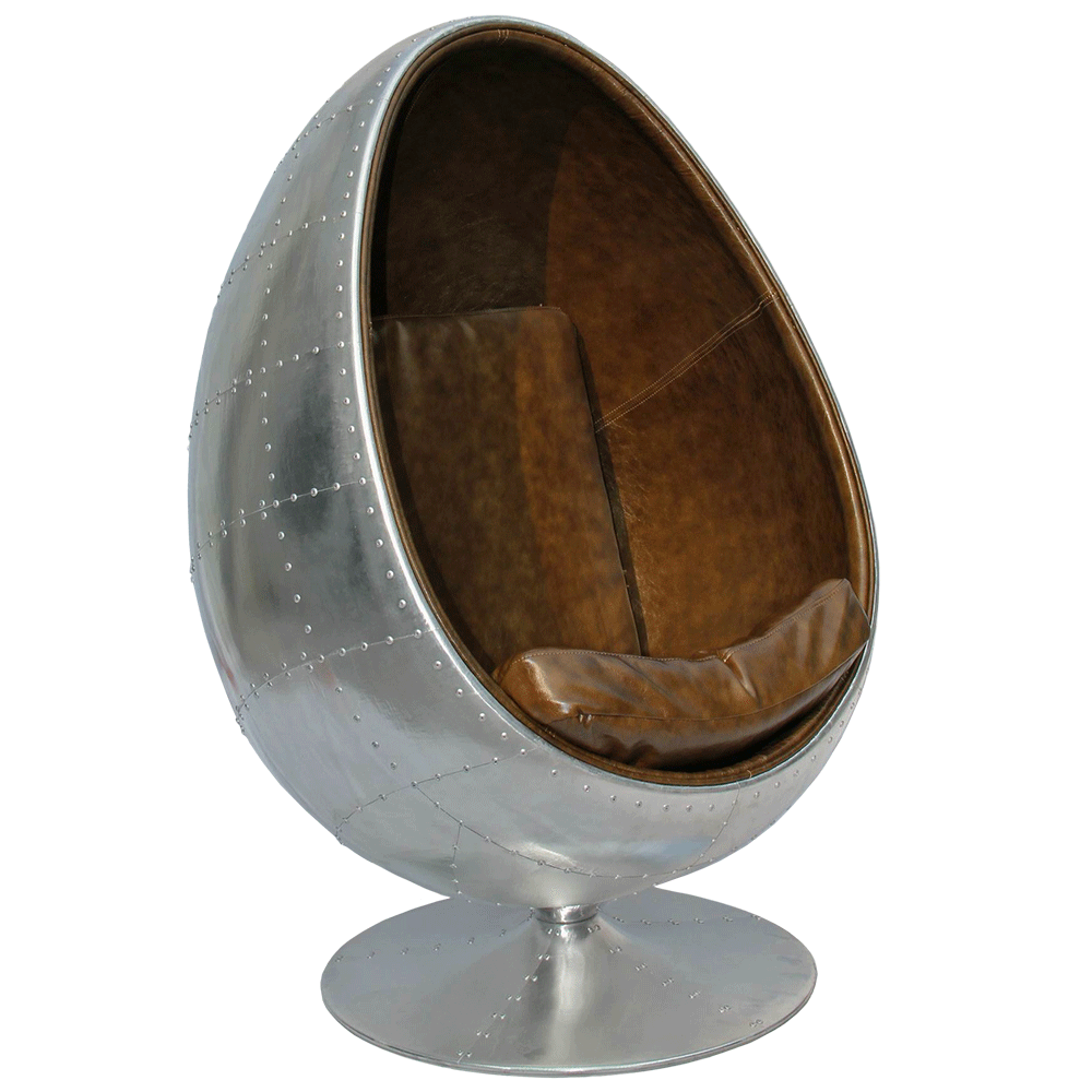 Egg Chair Accent Chairs.Aviator Egg Chair Bubble Miami